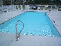 Oceanside Fiberglass Pool in Urbanna, VA