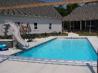 Oceanside Fiberglass Pool in Village, VA