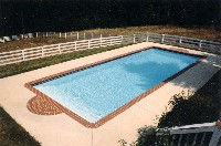 Oceanside Fiberglass Pool in Wake, VA