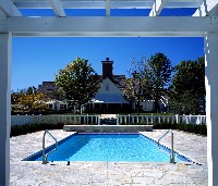 Oceanside Fiberglass Pool in Water View, VA