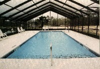 Oceanside Fiberglass Pool in Wicomico Church, VA