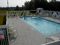 Oceanside Fiberglass Pool in Center Cross, VA