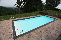 Oceanside Fiberglass Pool in Farnham, VA