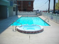 Oceanside Fiberglass Pool in Sandy Point, VA